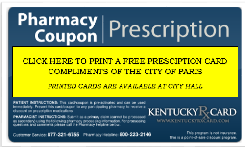Get your Pharmacy Perscription Card